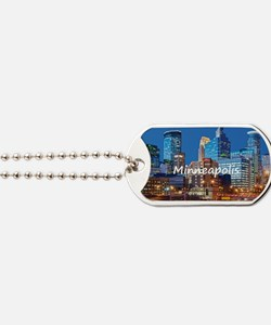 Minneapolis_2x3_magnet_Downtown Dog Tags