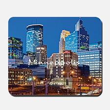 Minneapolis_3.7X3.7_Downtown Mousepad