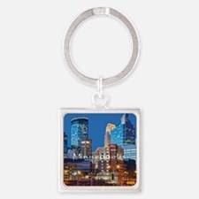 Minneapolis_3.7X3.7_Downtown Square Keychain
