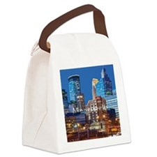 Minneapolis_3.7X3.7_Downtown Canvas Lunch Bag