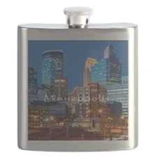 Minneapolis_3.7X3.7_Downtown Flask