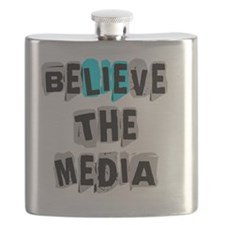 Believe the Media - LIE Flask