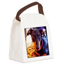 Gracie/signed Canvas Lunch Bag