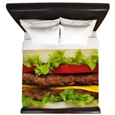 Burger Me King Duvet