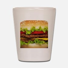 Burger Me Shot Glass