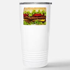 Burger Me Stainless Steel Travel Mug