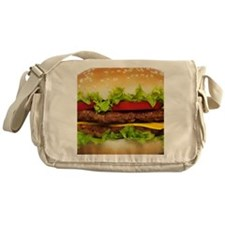 Burger Me Messenger Bag