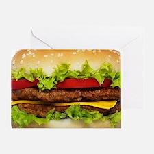 Burger Me Greeting Card