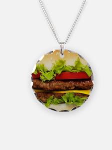 Burger Me Necklace