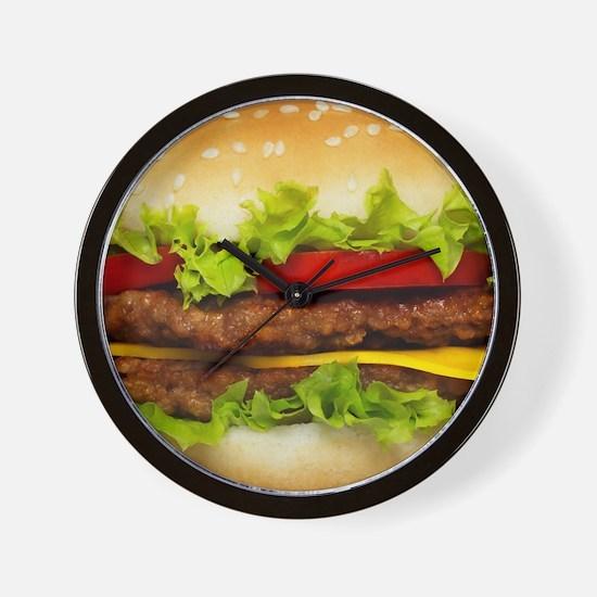 Burger Me Wall Clock