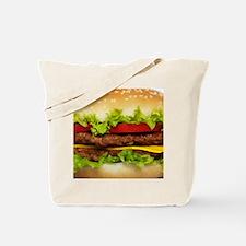 Burger Me Tote Bag