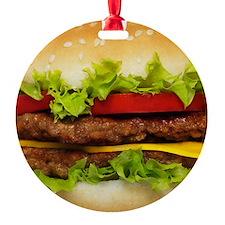 Burger Me Ornament