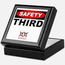 Safety Third Keepsake Box