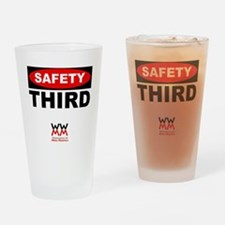 Safety Third Drinking Glass