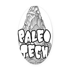 Paleo Tech Oval Car Magnet
