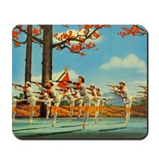 Chinese Ballet Guns Mousepad