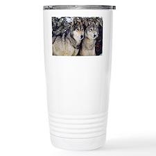Wolf Couple Travel Mug