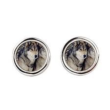 Wolf Couple Cufflinks