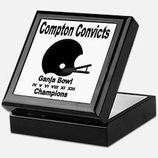 Compton Convicts Ganja Bowl Champions Keepsake Box
