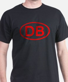 DB Oval (Red) T-Shirt