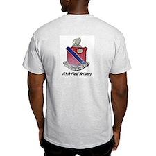 Ash Grey T-Shirt w/ 189th Field Artiller