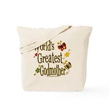 Godmother Butterflies Tote Bag