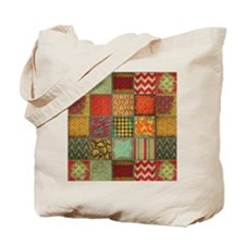 Quilt Tote Bag