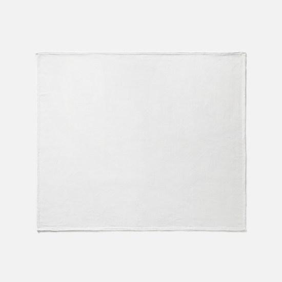 Calico Jack White Throw Blanket