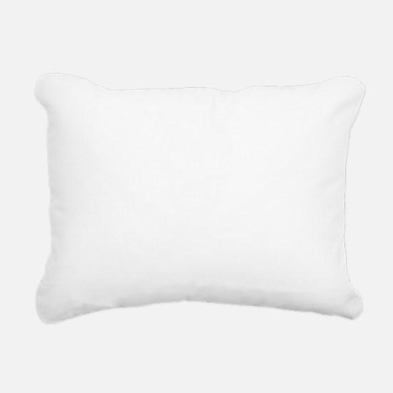 Calico Jack White Rectangular Canvas Pillow