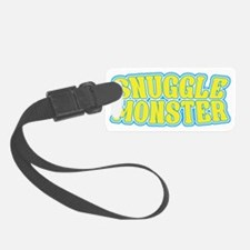 snuggle monster Luggage Tag