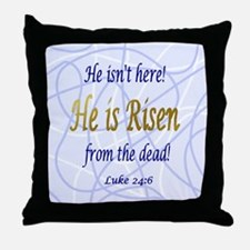 RisenFromtheDead Throw Pillow