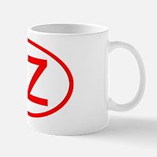 CZ Oval (Red) Mug