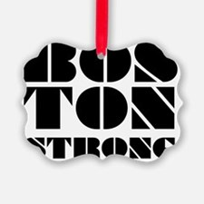 bos-Ton Strong - Black  Green Ornament
