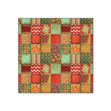 "Quilt Square Sticker 3"" x 3"""