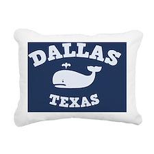 souv-whale-dallas-CRD Rectangular Canvas Pillow