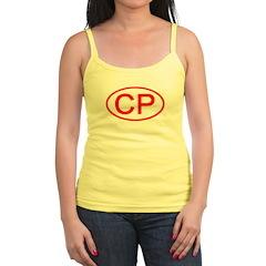 CP Oval (Red) Jr.Spaghetti Strap