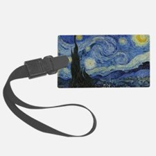 Vincent Van Gogh Starry Night Luggage Tag