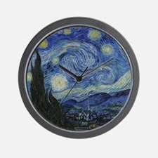 Vincent Van Gogh Starry Night Wall Clock