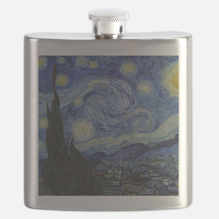 Vincent Van Gogh Starry Night Flask