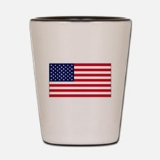 boston strong a(blk) Shot Glass