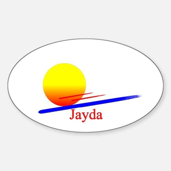 Jayda Oval Decal