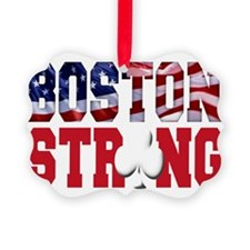 Boston Strong aaa(blk) Ornament