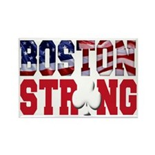 Boston Strong aaa(blk) Rectangle Magnet