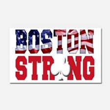 Boston Strong aaa(blk) Car Magnet 20 x 12