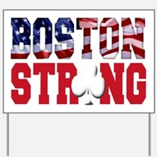 Boston Strong aaa(blk) Yard Sign