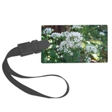 Fall Chive Blossoms Luggage Tag
