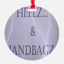 Heelz and Handbagz Ornament