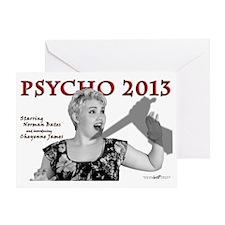 Cheyenne: Psycho 2013 Greeting Card