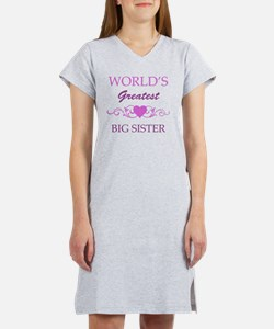 Worlds Greatest Big Sister (pur Women's Nightshirt