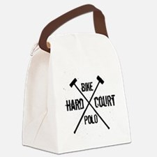 Hardcourt Bike polo Canvas Lunch Bag